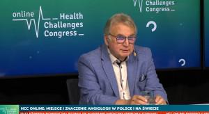 Prof. Sieroń podczas HCC Online: mamy za dużo amputacji, za mało lekarzy angiologów