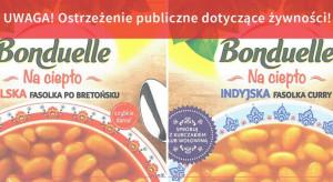GIS: wycofano dwa rodzaje fasolki Bonduelle z powodu niewłaściwej jakości opakowania