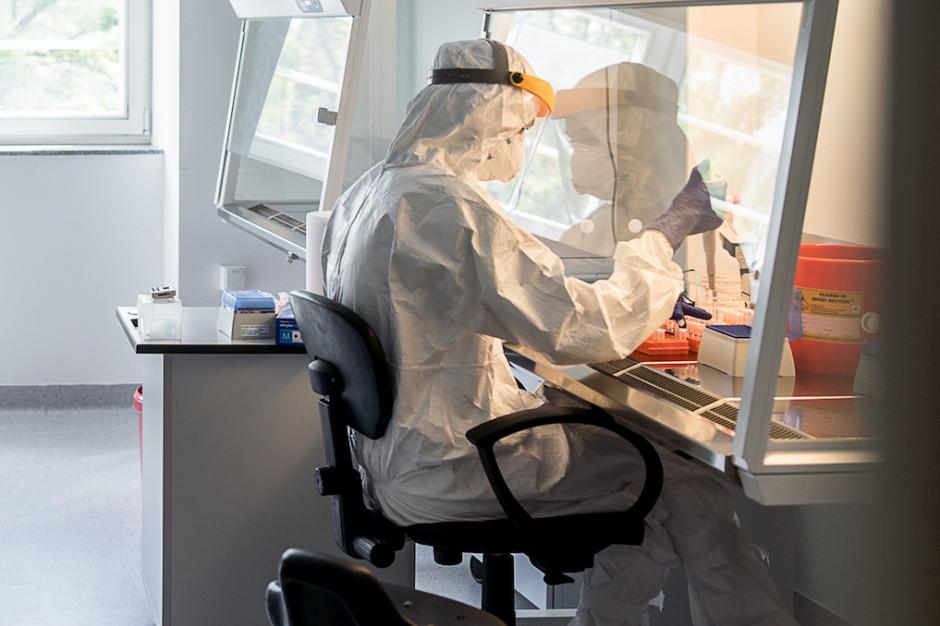 MZ: testy na obecność koronawirusa wykonuje obecnie 245 laboratoriów