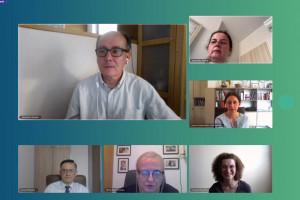 Podczas debaty ekspertów dotyczącej leczenia chorób mózgu w Polsce; FOT. PTWP
