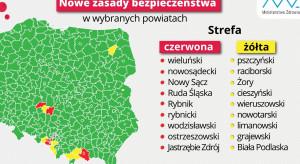 Wiceminister Cieszyński: nowa lista czerwonych i żółtych obszarów, a na niej 18 powiatów i miast
