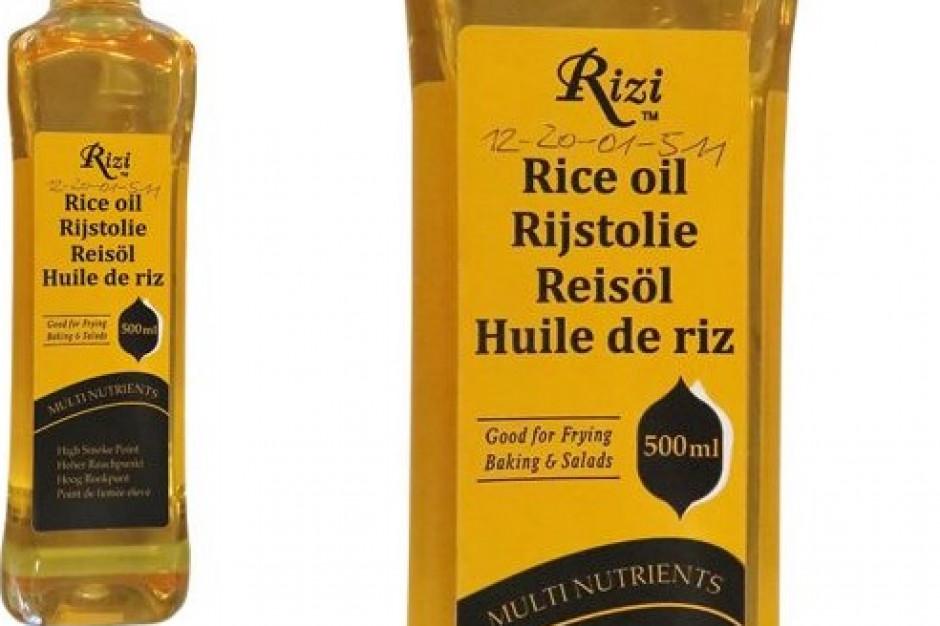 GIS: wycofanie z rynku partii oleju z ryżu