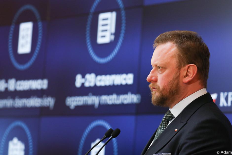 Minister Szumowski o tym czy i jakie popełnił błędy: niezbyt mocno naciskałem...
