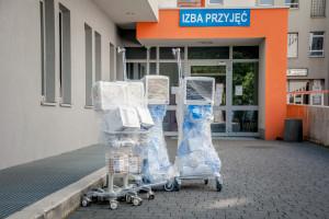 Sosnowiec: miasto kupiło szpitalowi sprzęt za 230 tys. zł -  to dwa respiratory i...