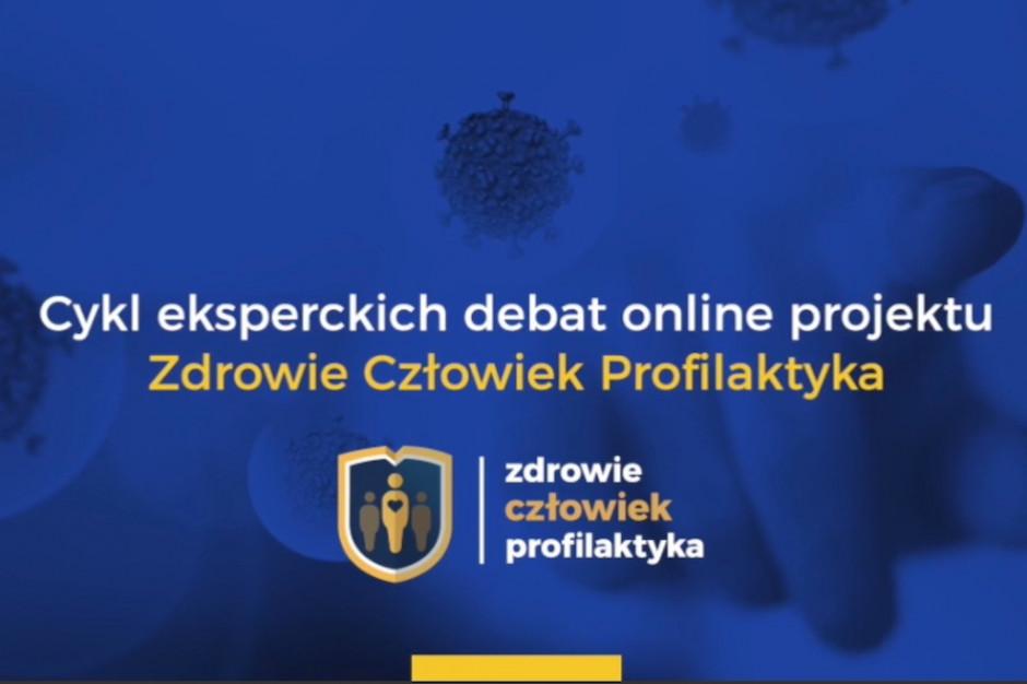 Debata online: Priorytety w profilaktyce chorób zakaźnych wśród personelu medycznego w dobie pandemii COVID-19