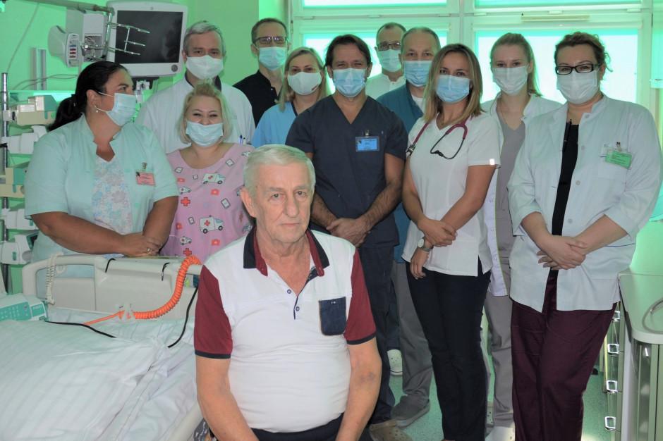 Opole: unikalny zabieg angioplastyki tętnicy wieńcowej przeprowadzono w szpitalu klinicznym