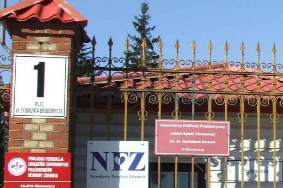Podlaskie: zakażenia w szpitalu w Choroszczy. Przyjęcia na kilka oddziałów wstrzymane