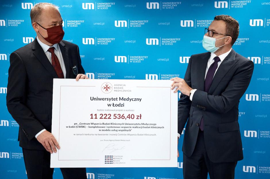 Łódź: w tym mieście również powstanie Centrum Wsparcia Badań Klinicznych
