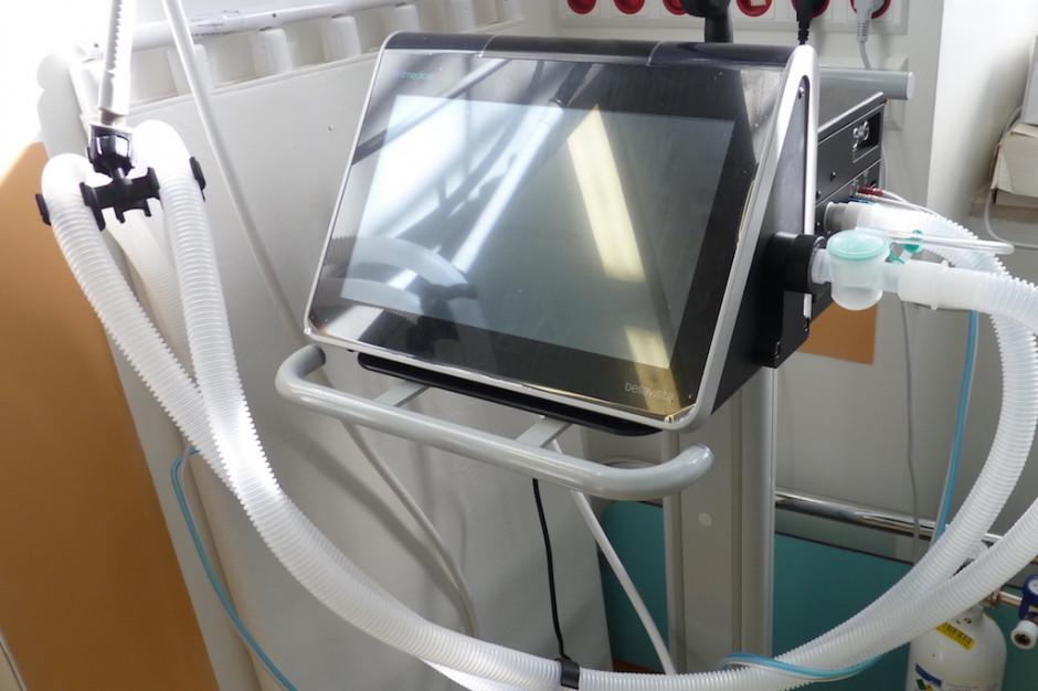 Pomorskie: w szpitalach pozostały już tylko dwa wolne respiratory?