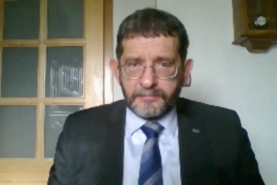 Dariusz Dziełak: ograniczenie przyjęć pacjentów niecovidowych póki co jest racjonalne