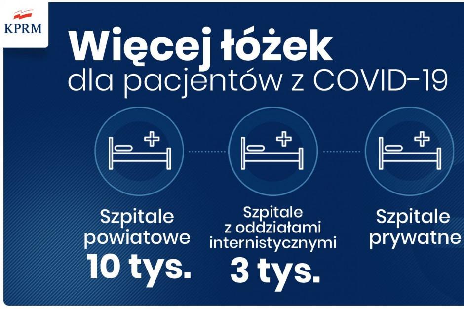 Minister zdrowia: w ciągu tygodnia podwoimy bazę łóżek covidowych