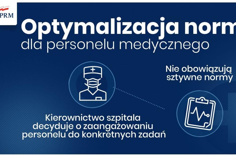 MZ: rezydenci bez egzaminu ustnego, ustawa o tzw. dobrym samarytaninie, dodatek z tytułu zwalczania Covid-19