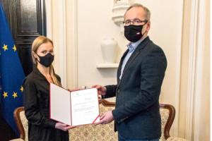 Anna Goławska została wiceministrem zdrowia odpowiadającym za informatyzację