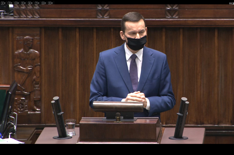 Premier i minister zdrowia o postępującej epidemii Covid-19: rząd zakłada najgorsze scenariusze