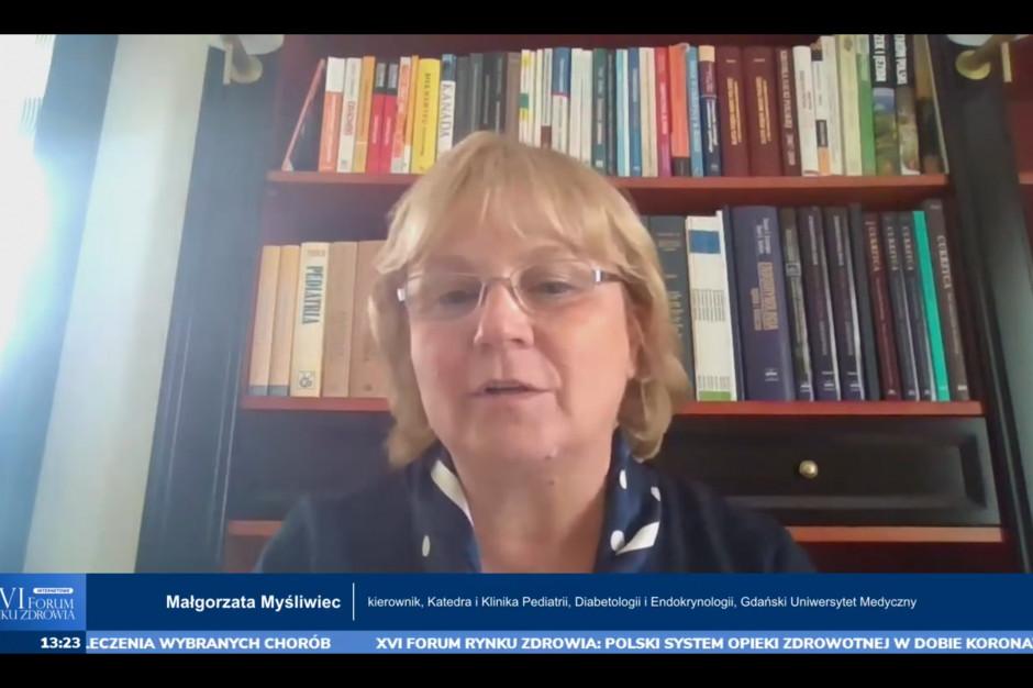 Prof. Myśliwiec: w czasie epidemii przyjęły się nowoczesne technologie monitorowania cukrzycy