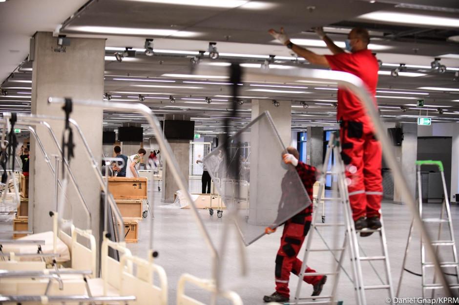 Szpital na Stadionie Narodowym osiągnie gotowość operacyjną, gdy...