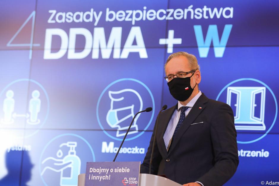 MZ: zastosujemy tylko bezpieczne i odpowiednio dopuszczone szczepionki przeciwko COVID-19