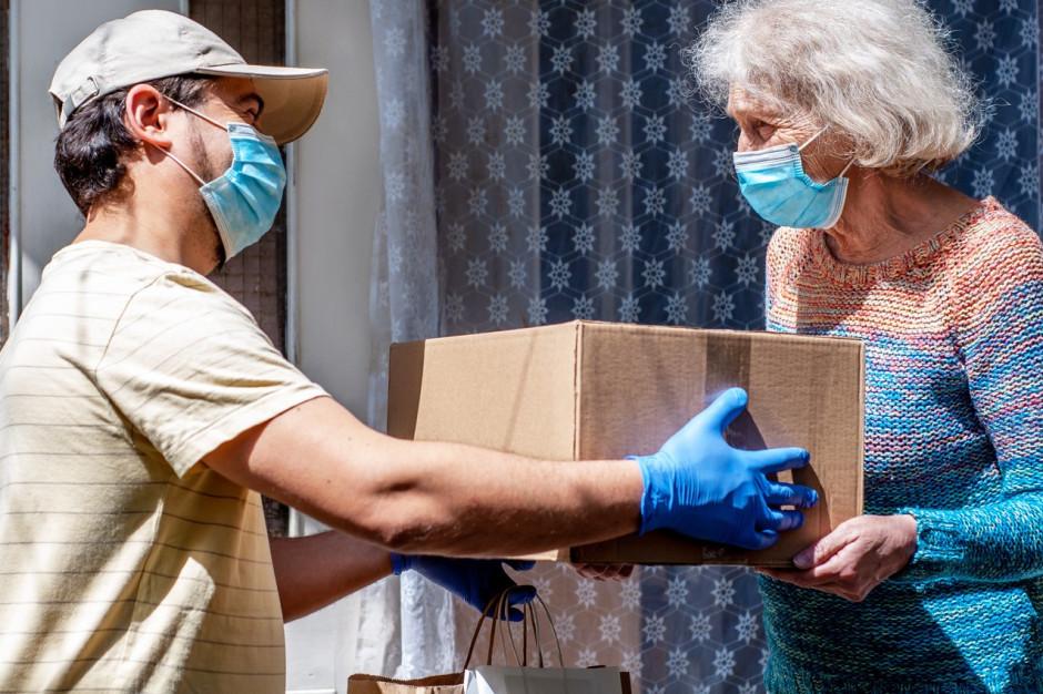 Gliwice: społecznicy zebrali dary dla pacjentów leczonych w izolacji