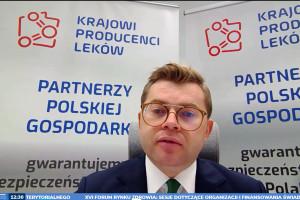 Prezes Rychwalski: czas na dyskusję o bezpieczeństwie lekowym kraju był wystarczający, działajmy