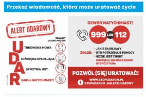 """Rusza akcja Alert Udarowy -  w tym roku pod hasłem """"Pozwól (się) uratować"""""""