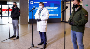 Dr Zaczyński: fala zakażeń jest jak rekin - musimy stanąć, żeby nas minął