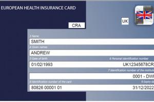 NFZ: od 31 grudnia zmiana wzoru EKUZ dla ubezpieczonych w Wielkiej Brytanii