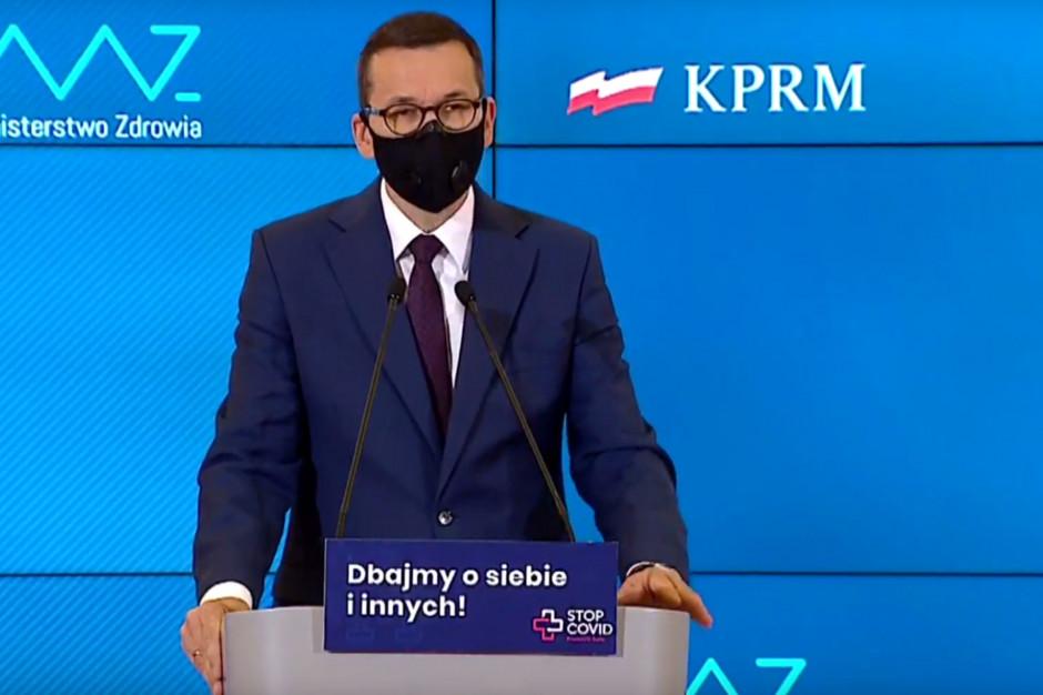 Morawiecki: Polska jest teraz w najtrudniejszym momencie od początku pandemii