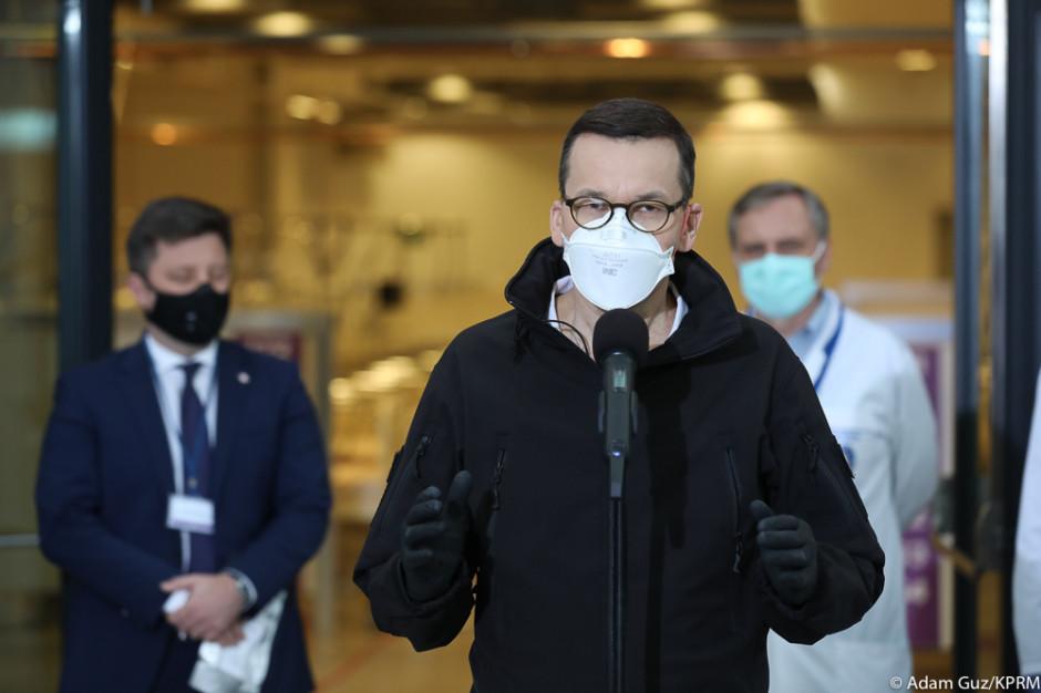 Rzecznik rządu: brak przesłanek objęcia kwarantanną premiera Morawieckiego