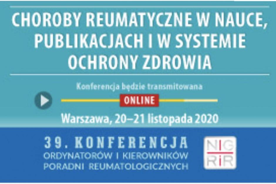 Choroby reumatyczne w nauce, publikacjach naukowych i w systemie ochrony zdrowia