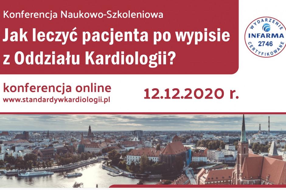 """Konferencja online: """"Jak leczyć pacjenta po wypisie z oddziału kardiologii"""""""