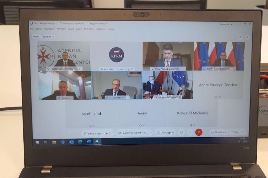 Spotkanie premiera z firmą AstraZeneca: powstanie Warsaw Health Innovation Hub