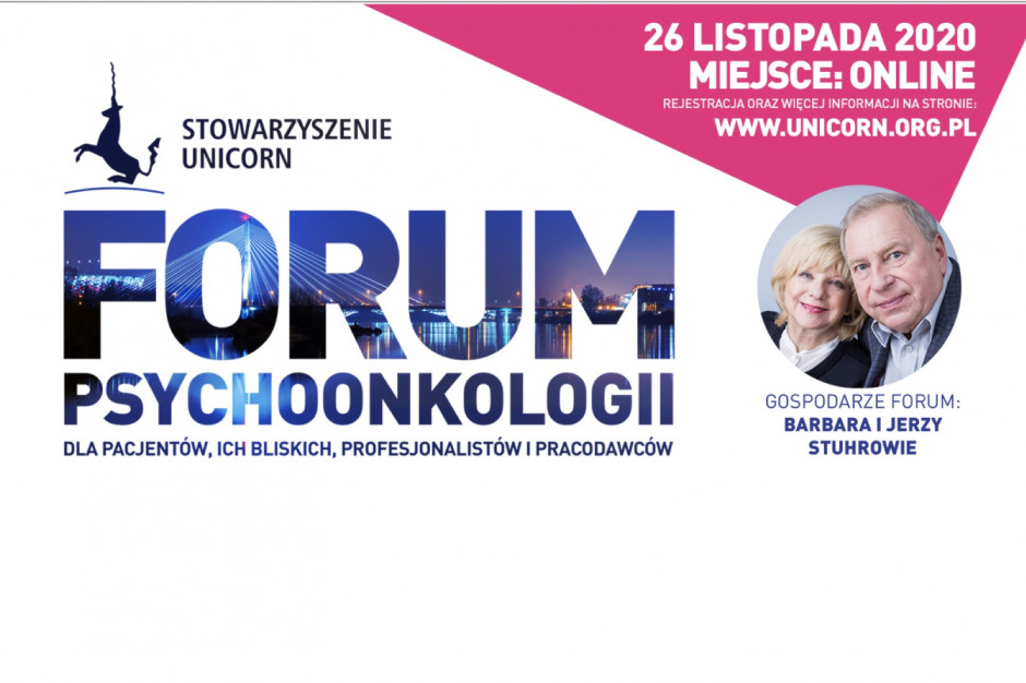 V Forum Psychoonkologii Stowarzyszenia UNICORN