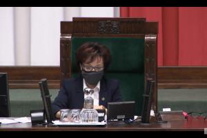 Witek: w czwartek premier zabierze głos m.in. na temat braku publikacji noweli ustawy covidowej