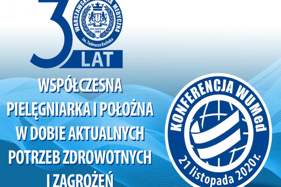 I Ogólnopolska Konferencja Warszawskiej Uczelni Medycznej -  już 21 listopada 2020 r.