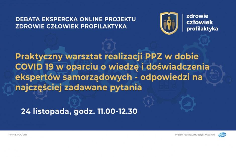 Debata i warsztat online: jak realizować programy polityki zdrowotnej w dobie COVID-19