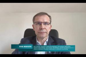 Dr hab. Bogdan Batko: przy trwałej remisji w RZS możliwe zmniejszanie dawek leku lub czasu między podaniami