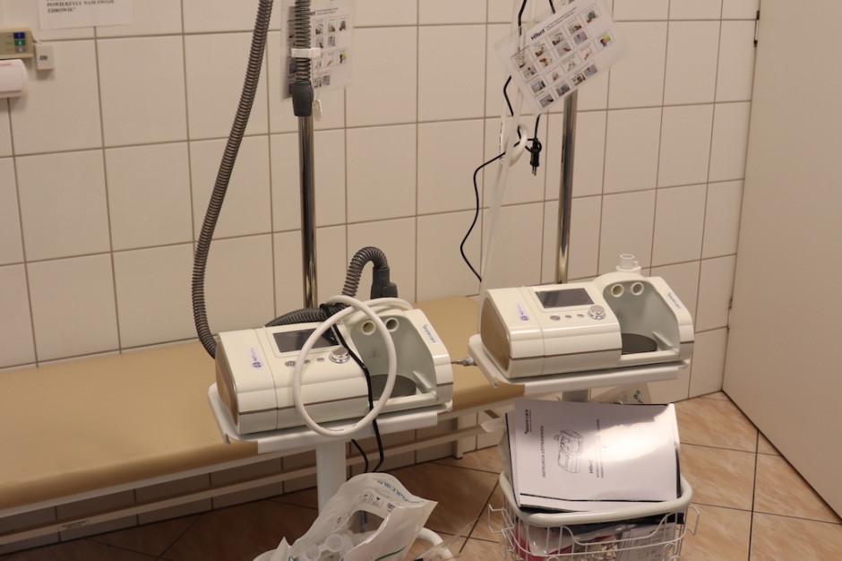 Gorzów Wielkopolski: szpital kupił nowoczesny sprzęt do tlenoterapii