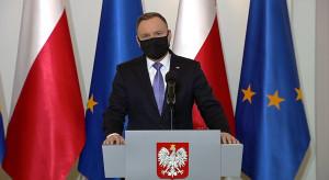 Andrzej Duda zachęca ozdrowieńców do wolontariatu w domach pomocy społecznej