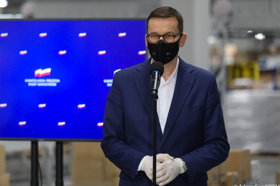 Morawiecki: punkty szczepień w POZ, jednostkach moblinych i szpitalach rezerwowych