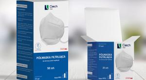 Grupa CIECH uruchomiła produkcję polskich maseczek ochronnych klasy FFP2