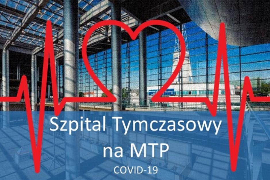 Poznań: awaria instalacji tlenowej, ewakuacja pacjentów ze szpitala tymczasowego w MPT