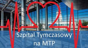 Szpital tymczasowy w Poznaniu powiększył bazę dostępnych łóżek covidowych