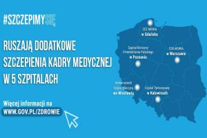 """MZ: komunikat dla osób z grupy """"0"""" o szczepieniach przeciwko Covid-19"""