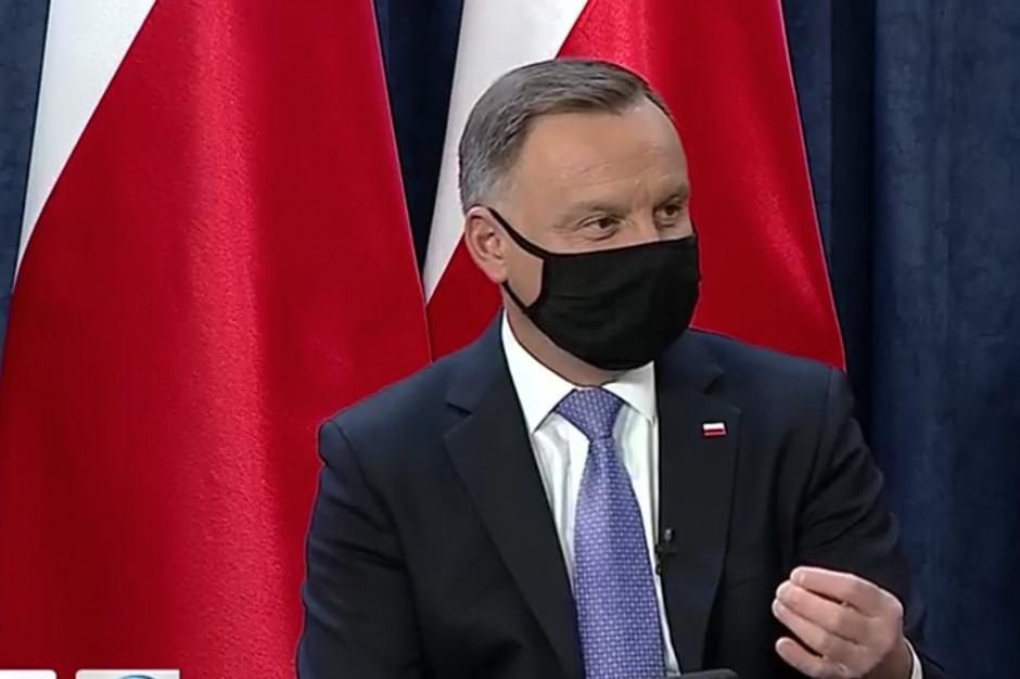 Andrzej Duda: Polska pionierem rehabilitacji osób po przebytej chorobie COVID-19