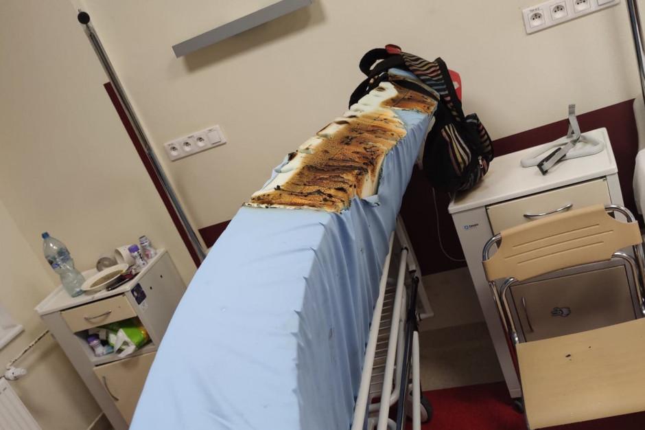 Gorzów Wielkopolski: zaprószenie ognia na oddziale chirurgicznym w porę zauważone