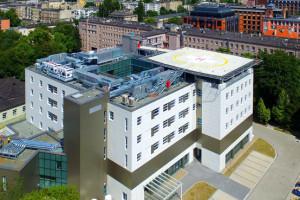 Łódź: nowy budynek szpitala im. WAM oddany do użytku, będzie tam centrum zabiegowe