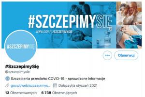Lekarze i politycy zachęcają do szczepień przeciwko COVID-19. Trwa kampania #SzczepimySię