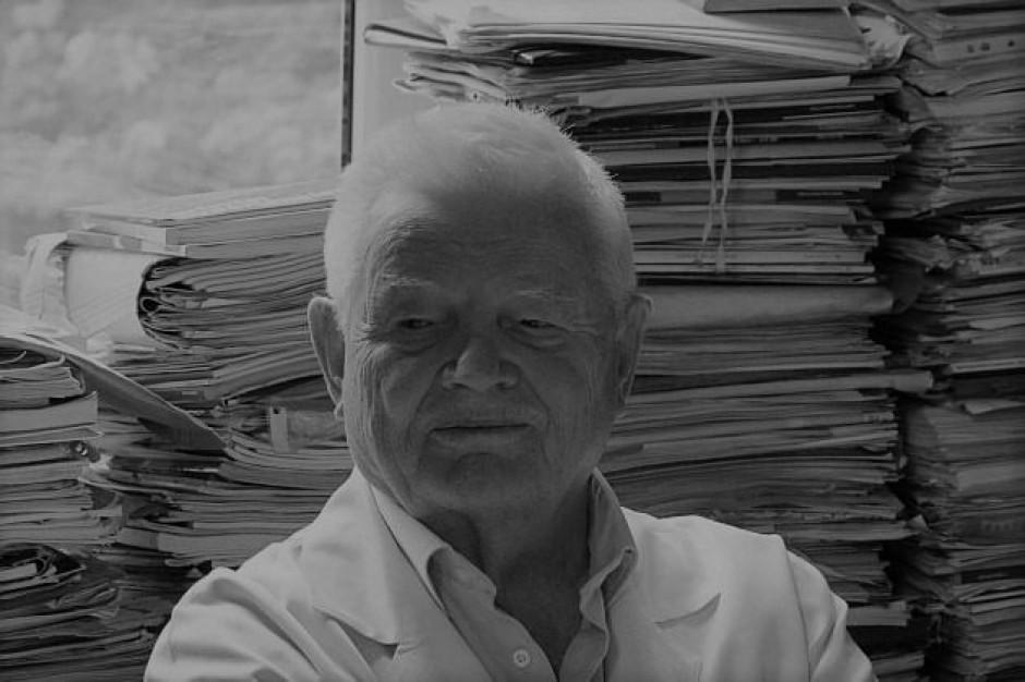 Prof. Franciszek Kokot pośmiertnie uhonorowany Orderem Orła Białego