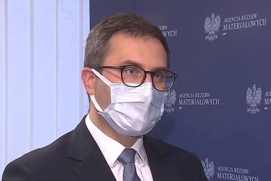Kuczmierowski: kolejna dostawa szczepionki AstraZeneca będzie mniejsza niż zaplanowano