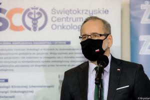 Ustawa o Krajowej Sieci Onkologicznej od 1 stycznia 2022 roku. Niedzielski o szczegółach